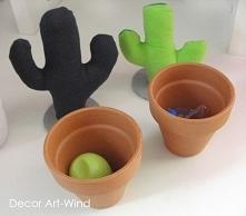 kaktusiki- pojemniki
