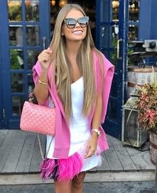 Różowa inspiracja od Anukka66 z 24 sierpnia - najlepsze stylizacje i ciuszki