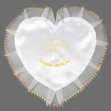 Wyjątkowa szatka chrzcielna w kształcie serca. Piękna szatka będzie oryginaln...