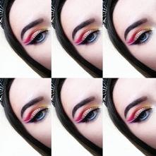 Najnowszy makijaż Rainbow :)  Co myślicie?