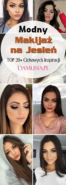 Makijaż na Jesień: TOP 20+ Najgorętszych Trendów Tego Sezonu!