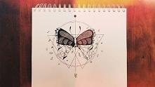 Niedzielna nuda z motylem. ...