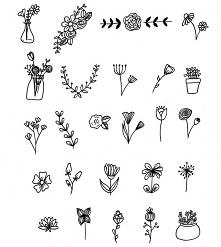 Kwiatki:)