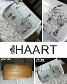 Decoupage  HAART blog DIY