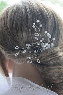 Ozdoby do włosów na ślub lub wesele