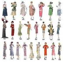 Moda lata 1915 - 1938.