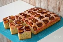 Ciasto babuni ze śliwkami P...