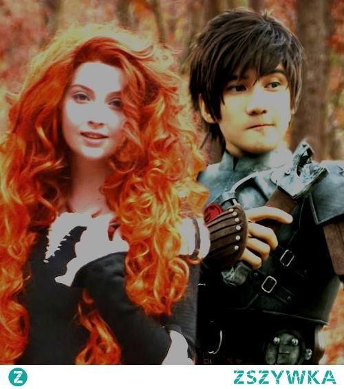 Merdia i Czkawka cosplay
