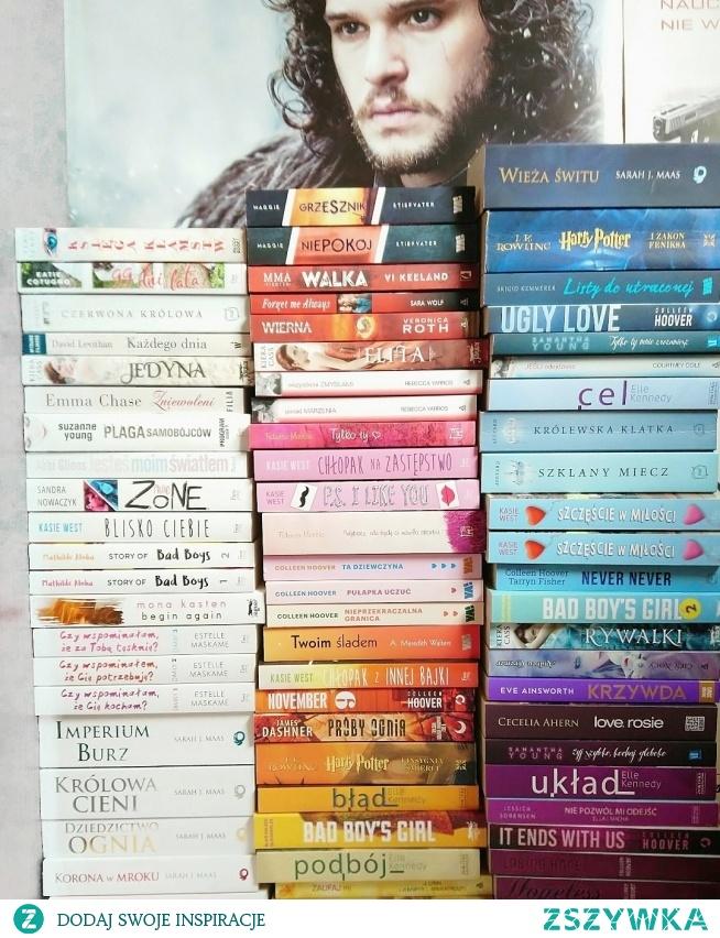Cześć mojej kolekcji. Zapraszam na instagram @world.of.a.book_lover