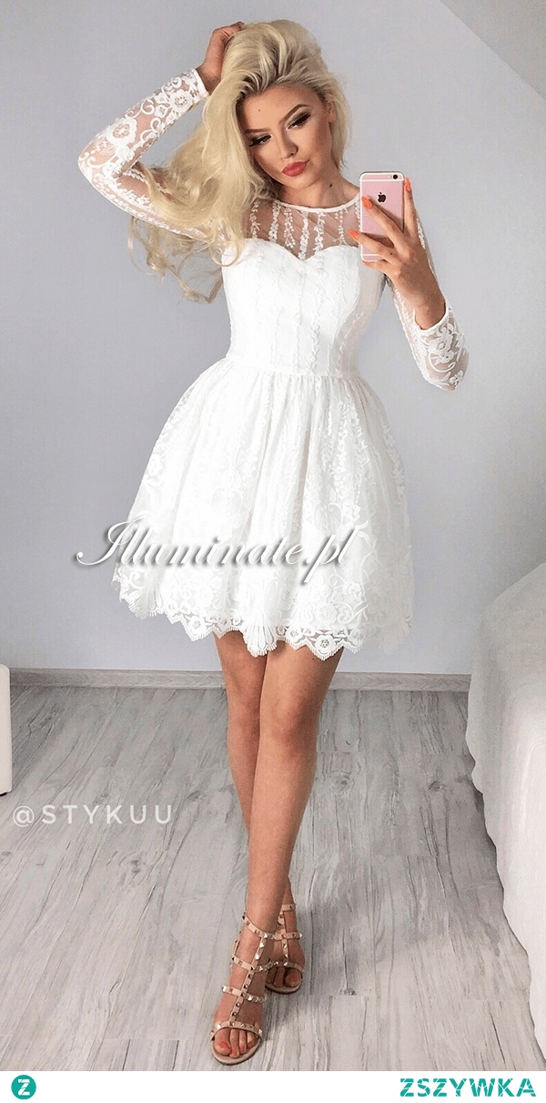 7aa49a3913 Piękna biała