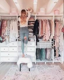 Garderoba, wkońcu taką zrobie