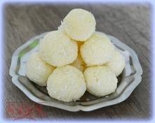 Obłędnie pyszne trufle kokosowe - tylko z 3 składników;)