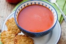 Zupa z pieczonych pomidorów...
