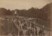 Ogród Saski, Warszawa, rok 1875