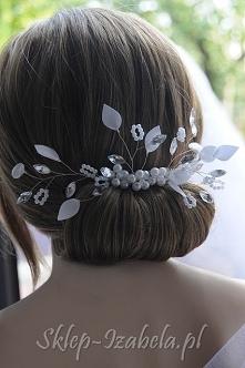 Ozdoby do włosów ślub