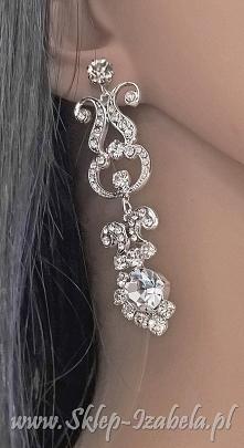 biżuteria wesele kolczyki