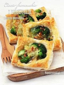 Ciasto francuskie z brokułe...