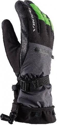 Viking Rękawice unisex Freeride Razor czarno-szare r. 7 (111/20/4330/08)