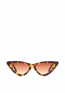 Brązowo-Żółte Okulary Helen