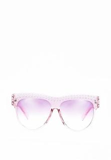 Jasnoróżowe Okulary Sweet Allure