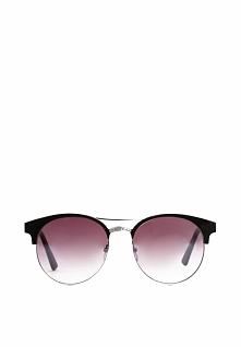 Czarno-Srebrne Okulary Bittersweet Shimmer