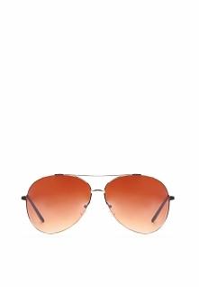 Złoto-Brązowe Okulary Chamomile
