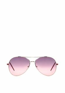 Złoto-Czerwone Okulary Chamomile