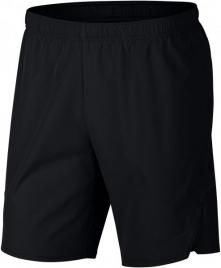 Nike Męskie Spodenki Sportowe M Nkct Flx Ace Short 9in Black White M