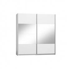 Verona szafa 2-drzwiowa W4400-Biały Alpejski HG0001-Biały Połysk 11