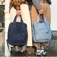 Oryginalny jeansowy plecak do szkoły czy na wycieczkę. Bardzo pojemny, a zarazem podręczny. Kliknij w zdjęcie i sprawdź, gdzie go kupić.