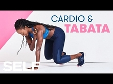 30-Minute Cardio Workout With Tabata Burnout | SELF