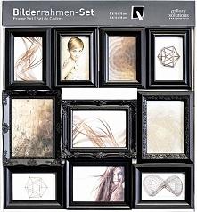 Ramka Nielsen Design 10pcs Ornament Set black Plastic (8999325)