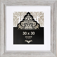 Ramka Nielsen Design Accent Vintage 30x30 Szara (3233101)