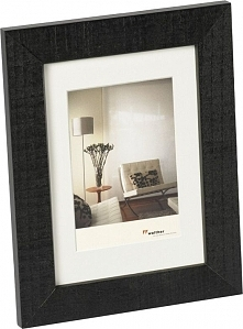 Ramka Walther Home,             10x15, drewniana, czarna (HO015B)