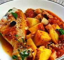 Udka z kurczaka na sposób włoski