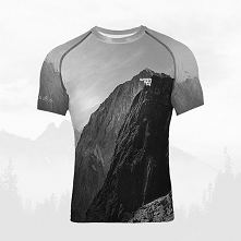 Koszulka termoaktywna męska - Góry