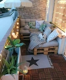 Na takim balkonie to ja mog...