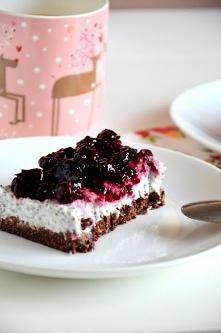 Fit ciasto BIg Trio - jak ktoś jest na diecie :) Nie wymaga pieczenia, a jedynie odrobiny cierpliwości, ponieważ musi odleżeć swoje w lodówce. Delikatne, orzeźwiające, idealne c...