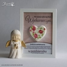 Porcelanowe serce z okazji ...