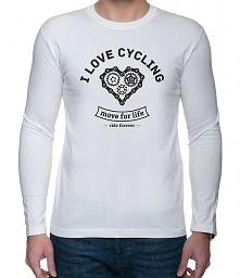 Koszulka dł. rękaw. I love cycling