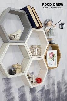 Jak podoba się Półka w kształcie plastra miodu ?