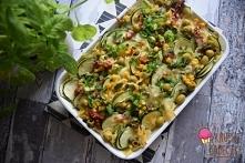 Zapiekanka makaronowa z warzywami - czyli nie marnujemy resztek