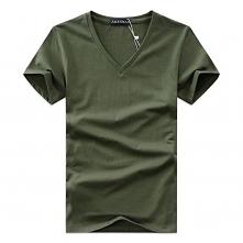 Klasyczny T-Shirt z dekolte...