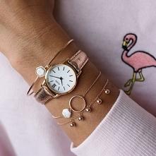 Zegarek Cluse to świetna propozycja dla kobiet, które kochają wszelkie różowe odcienie!