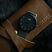 Zegarek damski Cluse w czarnej odsłonie to coś co kobiety kochają najbardziej!