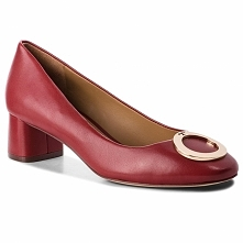 Baleriny TORY BURCH - Caterina 45mm Pump 51541 Dark Redstone 601