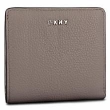 Mały Portfel Damski DKNY - Bifold Wallet R83ZA657 Warm Grey WG5