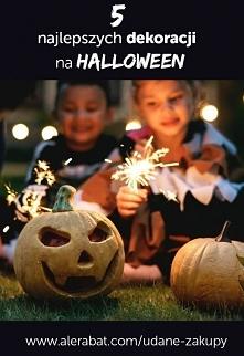 5 najlepszych dekoracji na Halloween - tylko na naszym blogu Udane Zakupy