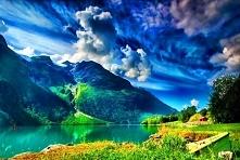 Cudowna i magiczna Norwegia :) #puzzle #jigsaw #puzzleonline #puzzlefactory #krajobrazy #krajobraz #podróże