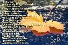 Jesienią, tęskni się najmocniej...